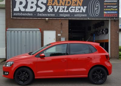 VW Polo 16'' InterAction black ice velgen