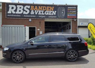 Volkswagen passat 18'' MAK Sarthe velgen + Goodyear banden