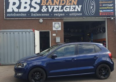 VW polo met 15inch InterAction sirius velgen